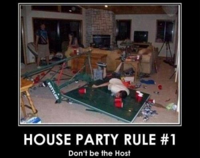 Funny Memes About House: 40 Most Funny Party Meme Pictures And Photos
