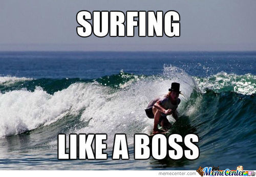 Funny Surfing Meme Surfing Like A Boss Picture 30 most funniest surfing meme pictures and images on the internet,Surf Meme