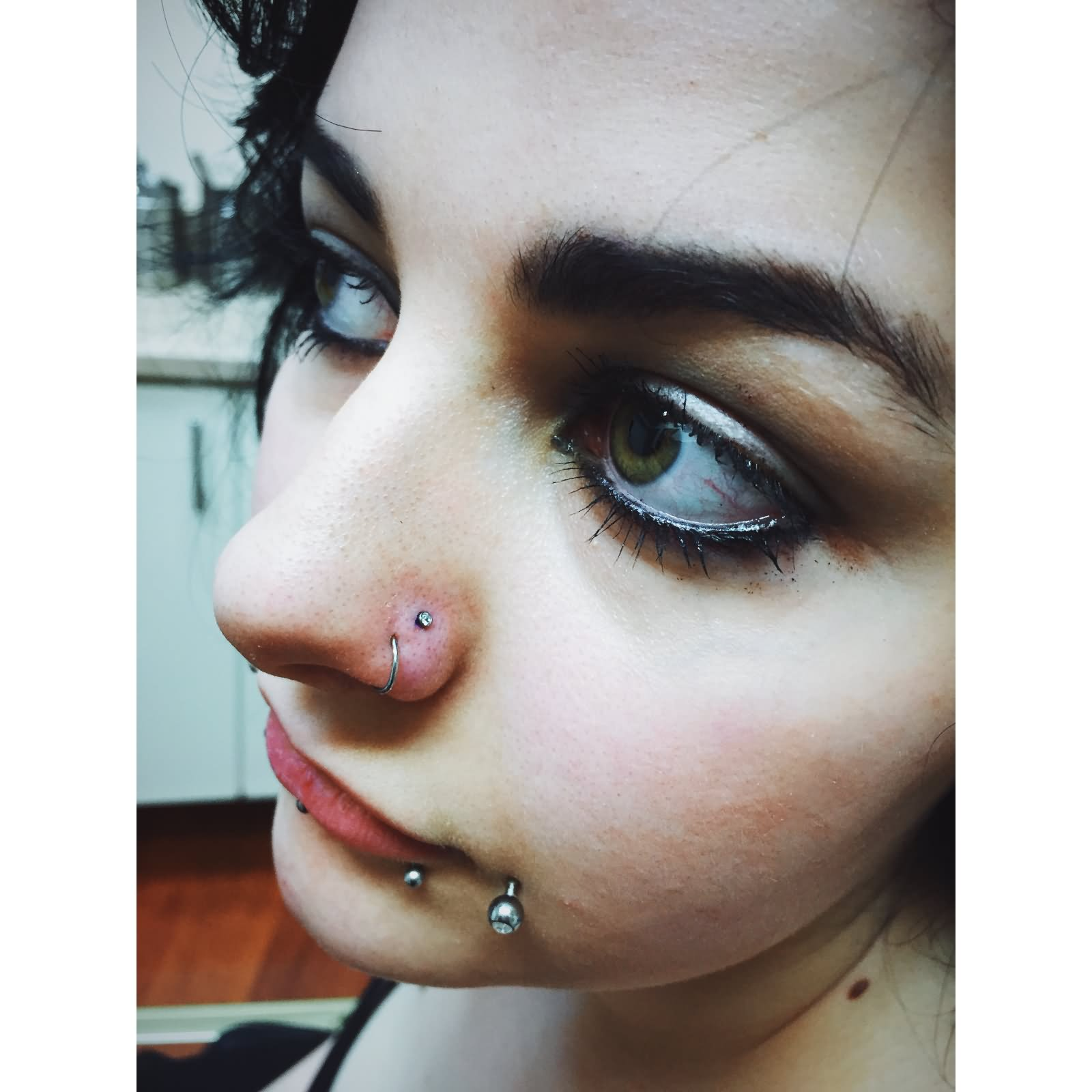 67+ awesome double nose piercings
