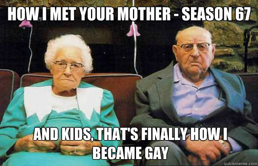 How I Met Your Mother Season 67 And Kids Thats Finally How I Became Gay Funny Couple Meme Picture 32 most funniest couple meme pictures and photos of all the time