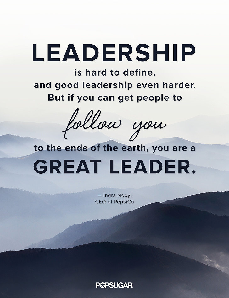 Great Leadership Quotes Classy Leadership Is Hard To Define And Good Leadership Even Harder But