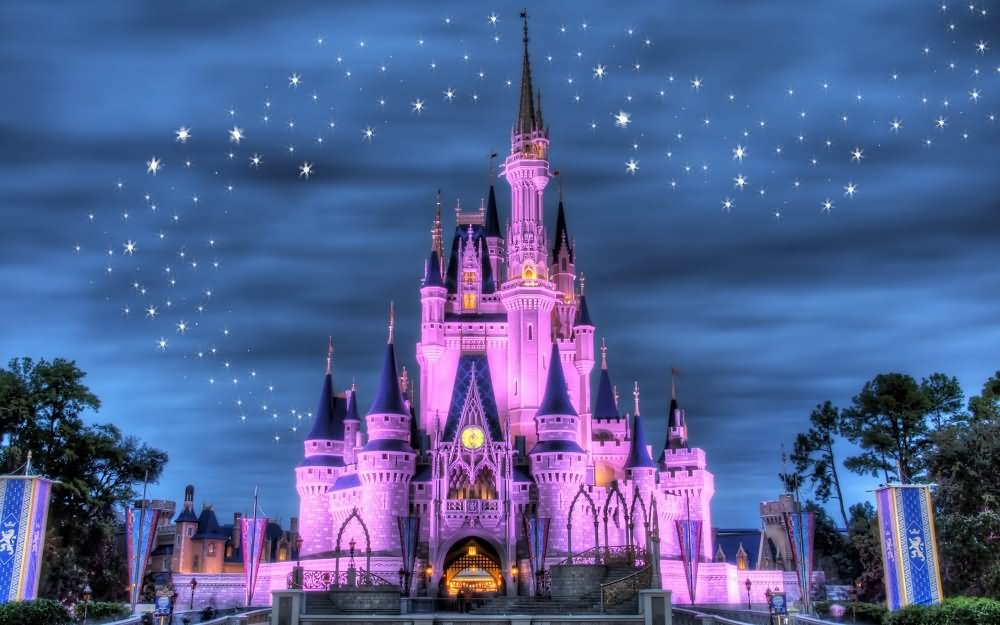 35 Very Beautiful Night Pictures And Images Of Hong Kong Disneyland