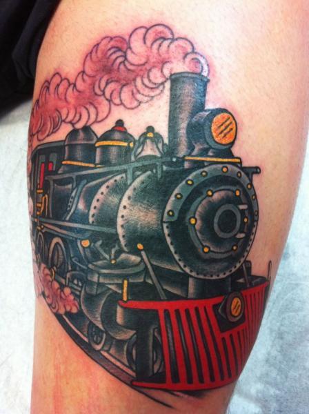 45+ Unique Train Tattoos