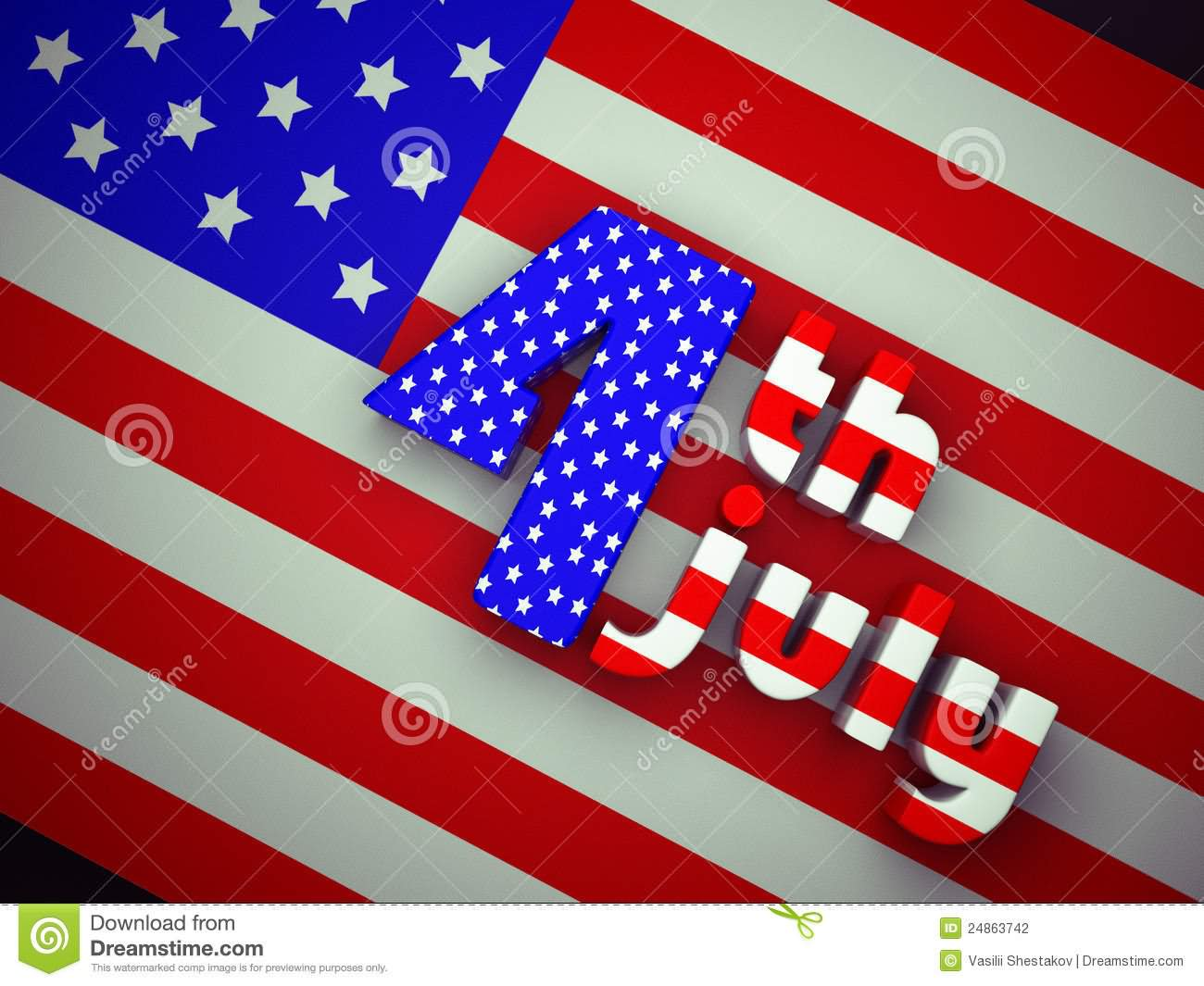 4th July United States Independence Day
