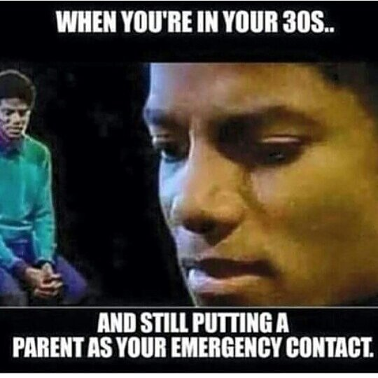 And Still Putting A Parent As Your Emergencey Contact Funny Michael Jackson Meme Picture and the i was like shamone funny michael jackson meme picture