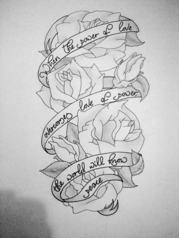 Rose Sleeve Tattoo Drawing 10 Amazing Half Designs
