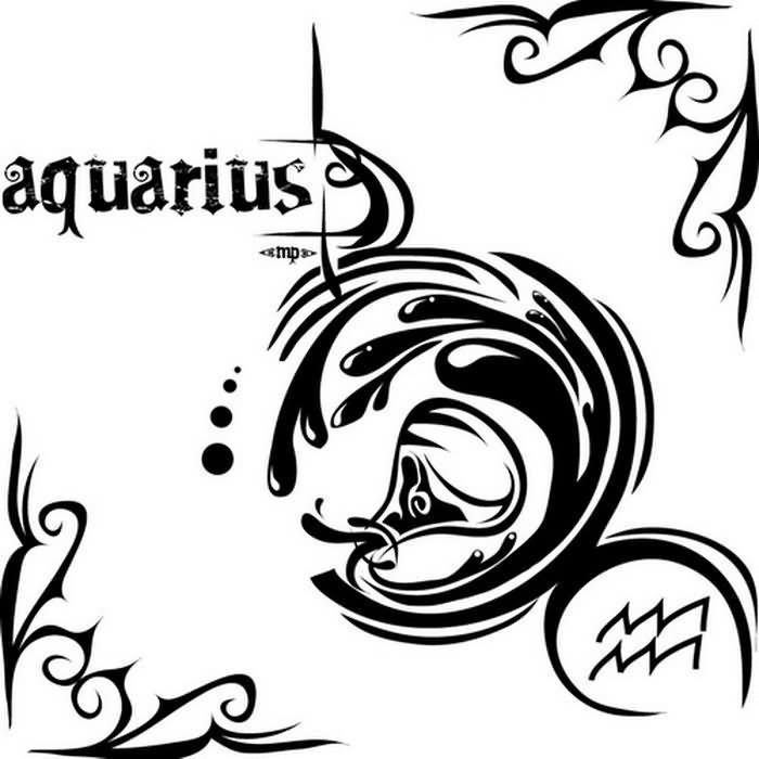 Tattoo Designs Aquarius Symbol: 44+ Best Aquarius Tattoo Designs