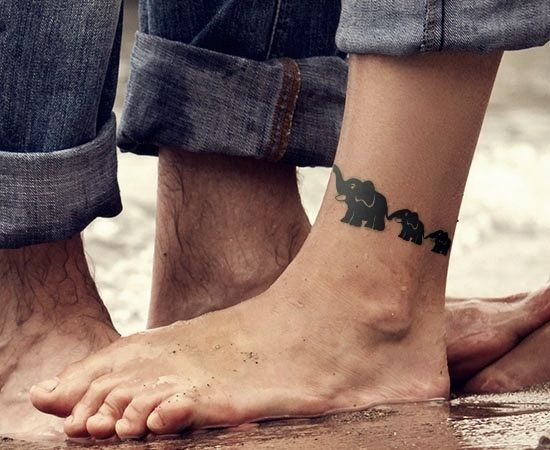 39 elephant family tattoos for Independent tattoo lincoln ne