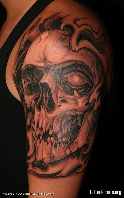 25+ Skull Half Sleeve Tattoos
