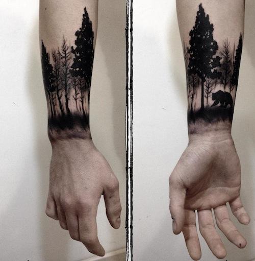 19+ Forearm Tree Tattoos