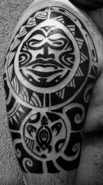 Maori Half Sleeve Tattoo: 46+ Cool Half Sleeve Tattoos