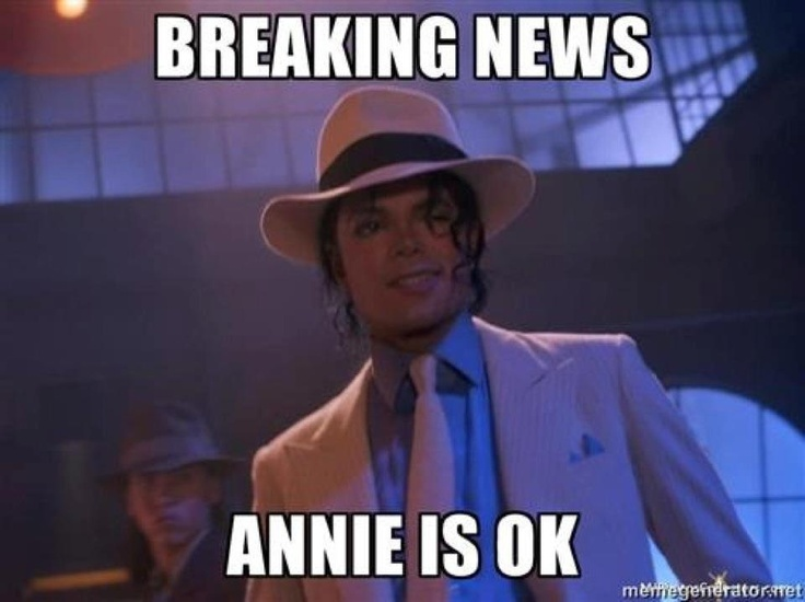 Breaking News Annie Is Ok Funny Michael Jackson Meme Image 50 most funny michael jackson meme pictures and photos that will
