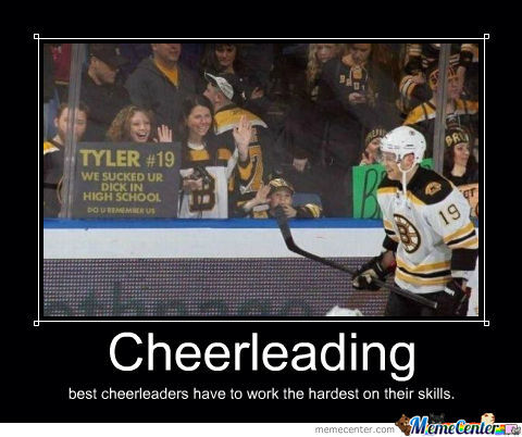 Cheerleading Best Cheerleaders Have To Work The Hardest On Their Skills Funny Cheerleading Meme Image