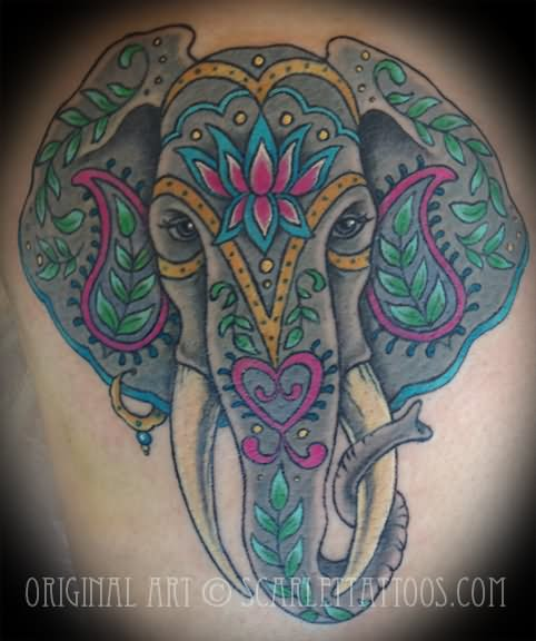 31+ Indian Elephant Tattoos