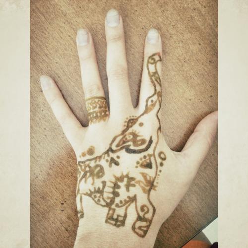 Henna Elephant Tattoo Design Custom Web Design Co Uk