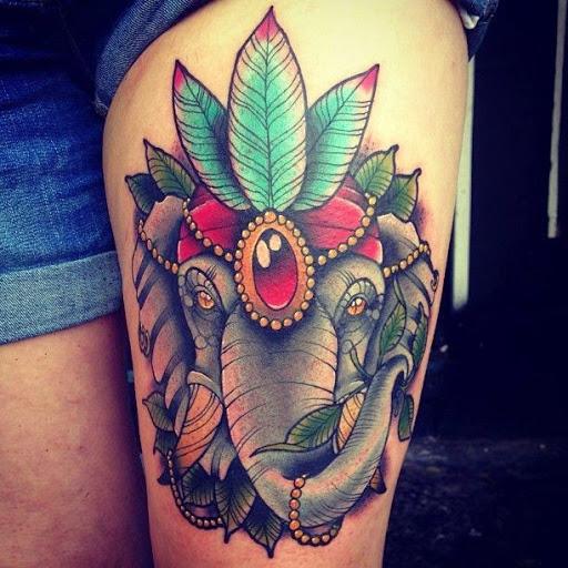 Aliexpress Com Buy India Elephant God Tattoos Cool: 31+ Indian Elephant Tattoos