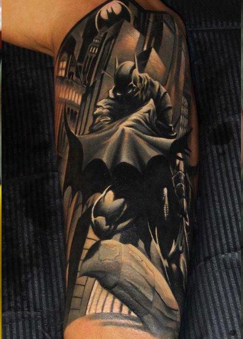 Dark Sleeve Tattoo Designs: 46+ Cool Half Sleeve Tattoos