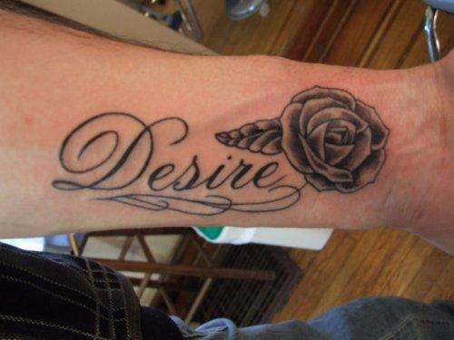 43 Forearm Word Tattoos