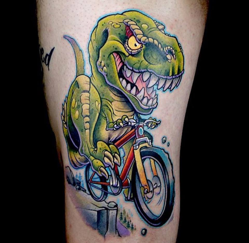 Dinosaur Tattoos Designs Ideas And Meaning: 45+ Awesome Dinosaur Tattoos