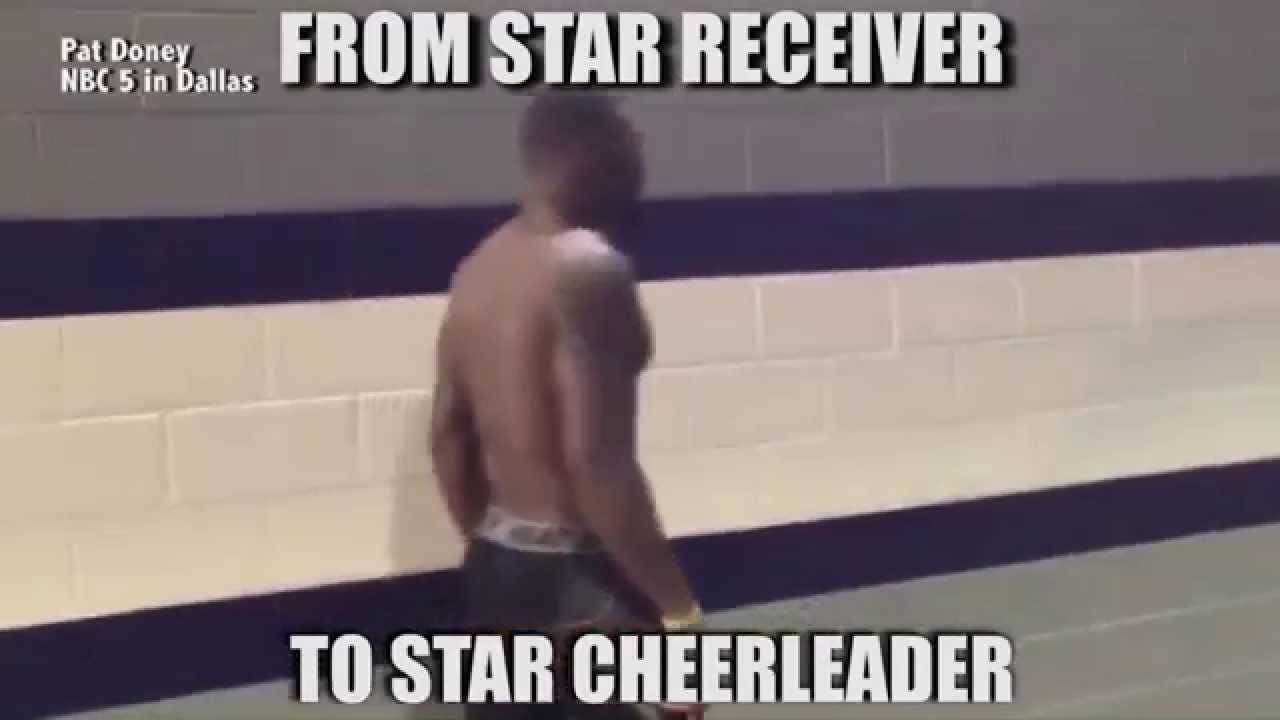 From Star Receiver To Star Cheerleader Funny Meme Image