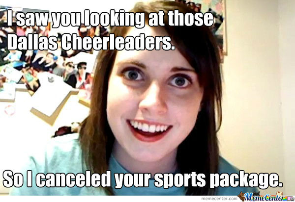Funny Cheerleading Meme I Saw You Looking At Those Dallas Cheerleaders Picture