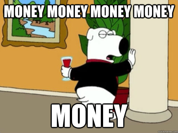Funny Money Meme Picture For Whatsapp a trillion here, a trillion there pretty soon you're talking about