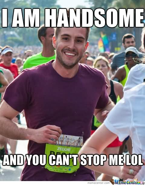Funny Stop Meme I Am Handsome And You Cant Stop Me Lol Image 50 most funny stop meme pictures and images that will make you laugh