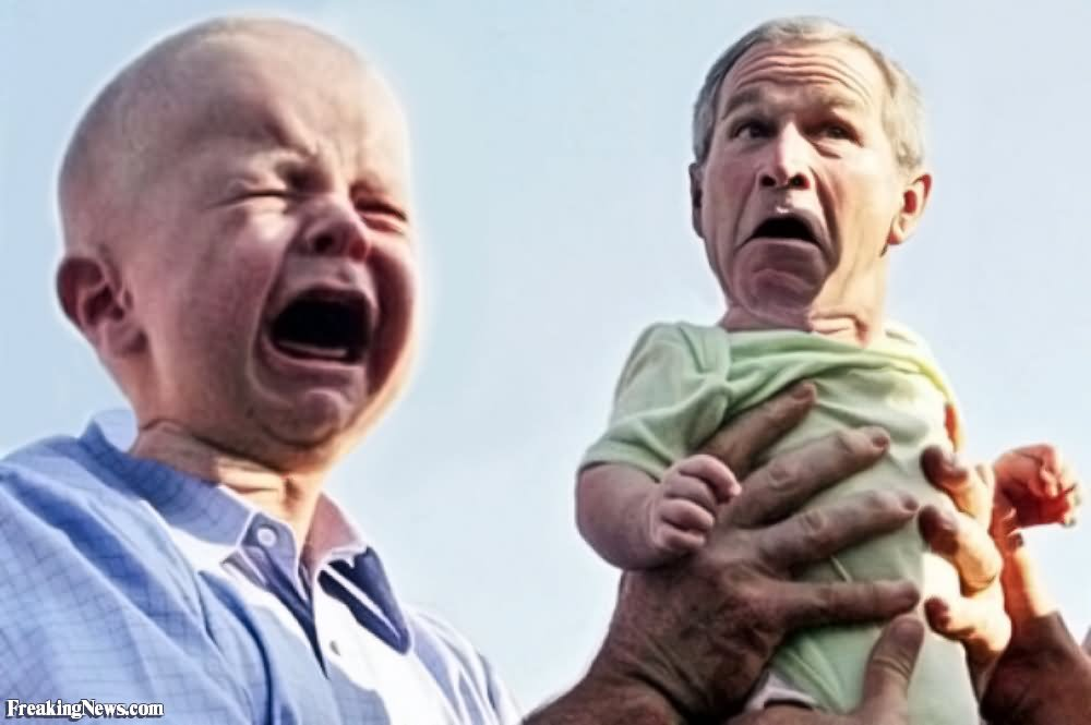 23 Very Funny George Bush Face Pictures And Images That ...