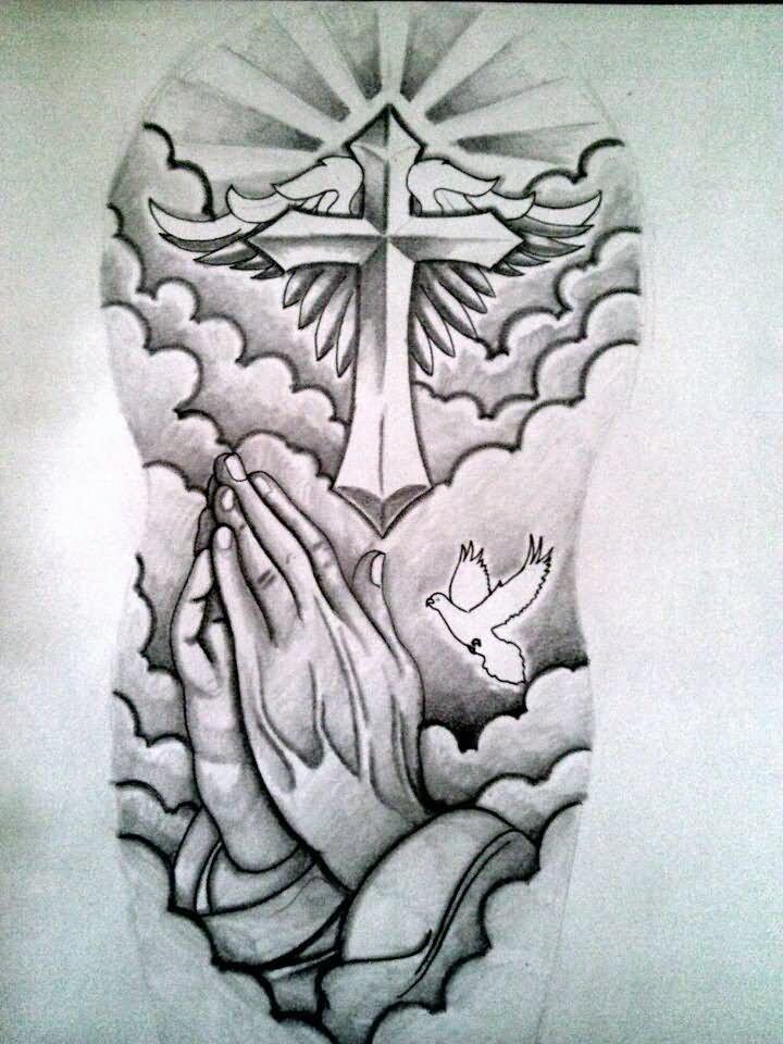 22 cross tattoos on half sleeve. Black Bedroom Furniture Sets. Home Design Ideas