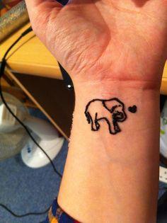 Simple Elephant Henna Tattoo 79785 Usbdata