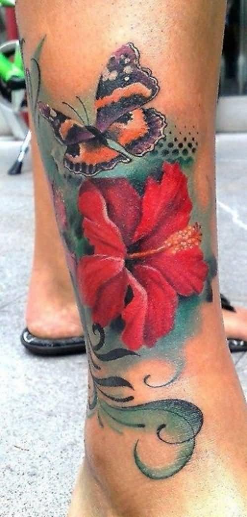 17 beautiful flower tattoos for men. Black Bedroom Furniture Sets. Home Design Ideas
