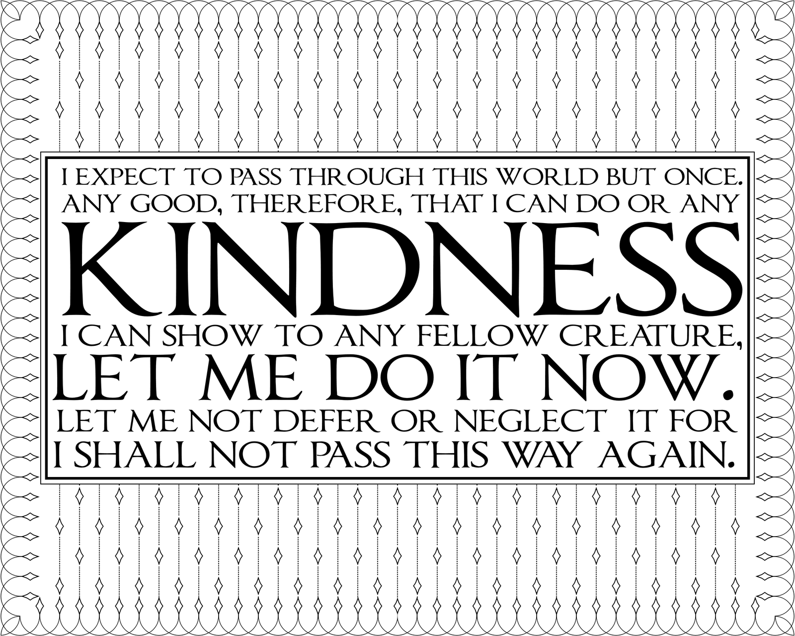 Simple Acts Of Kindness Are The Seeds We Plant To Change World