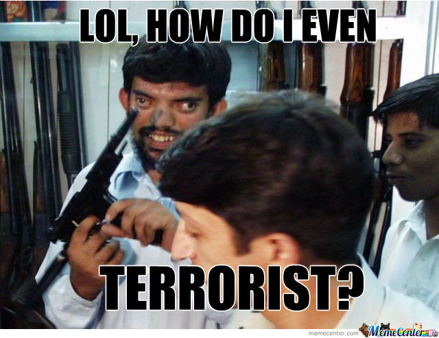 Duly answer Funny stupid terrorist apologise, but