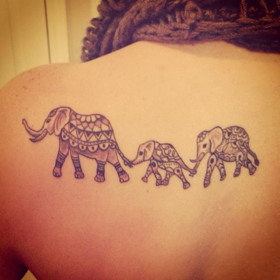 47 best elephant tattoos. Black Bedroom Furniture Sets. Home Design Ideas