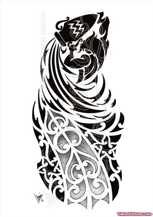 44  Best Aquarius Tattoo Designs