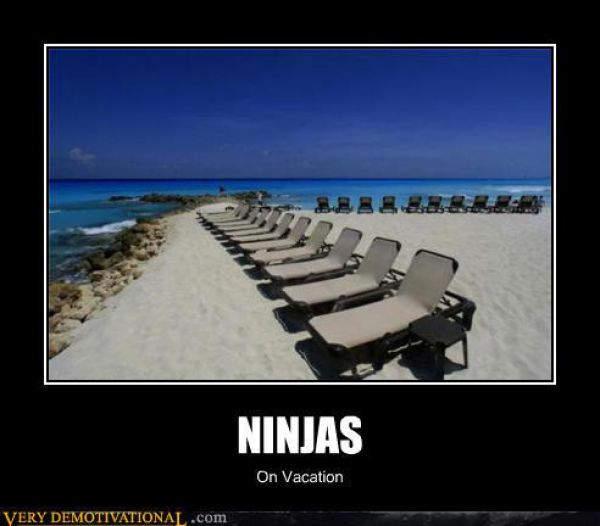 Ninja On Vacation Funny Ninja Meme Picture 31 most funniest ninja meme photos and images of all the time