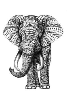 11 indian elephant tattoo designs. Black Bedroom Furniture Sets. Home Design Ideas