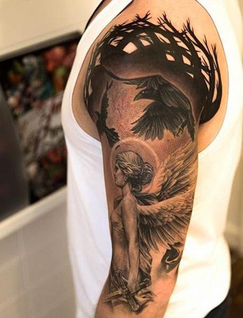 46+ Cool Half Sleeve Tattoos