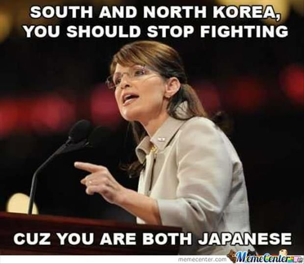 Funny Memes For Fighting : South and north korea you should stop fighting cuz are