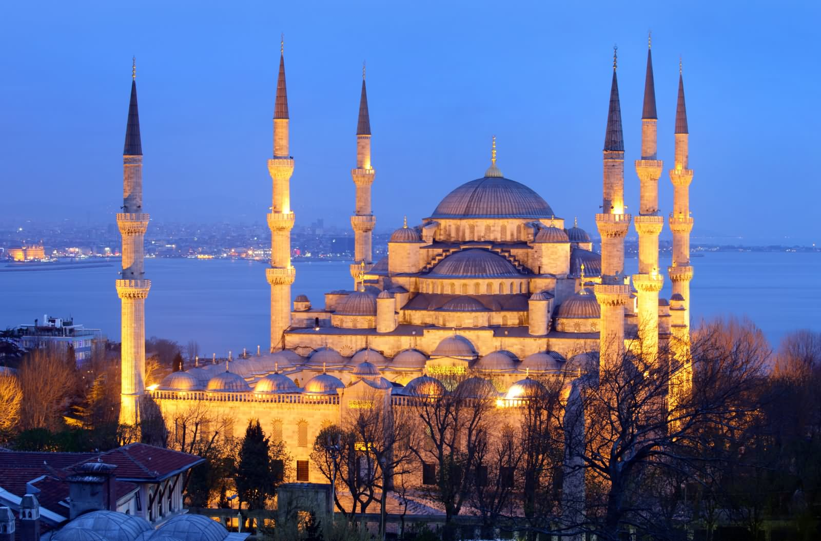 The Blue Mosque, Istanbul During Sunset