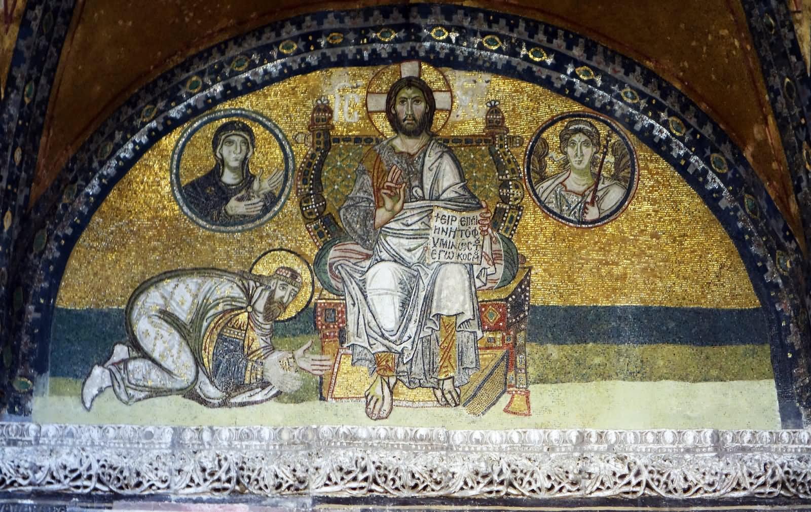 30 Incredible Mosiac Inside The Hagia Sophia In Istanbul