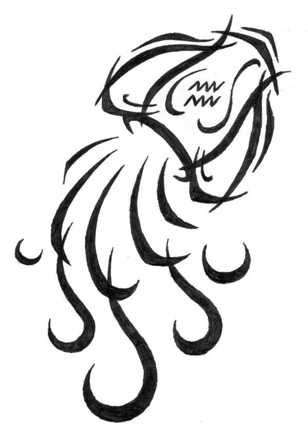 картинки на тату знаки зодиака водолей данный момент