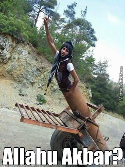 Pity, Funny stupid terrorist