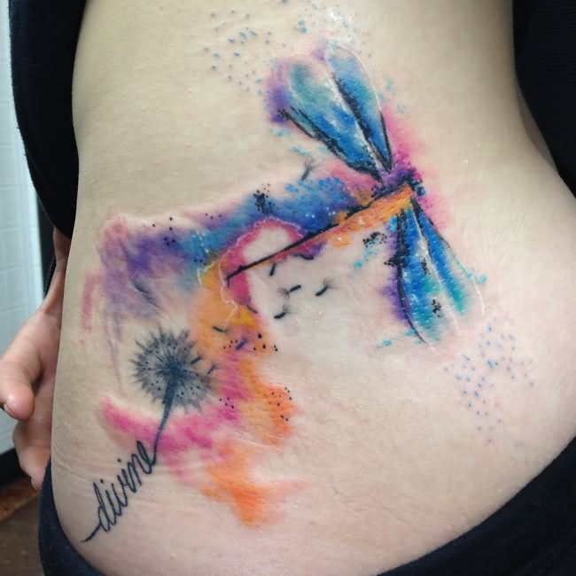 Watercolor Tattoos Abstract Watercolor And: 53+ Colorful Watercolor Tattoos