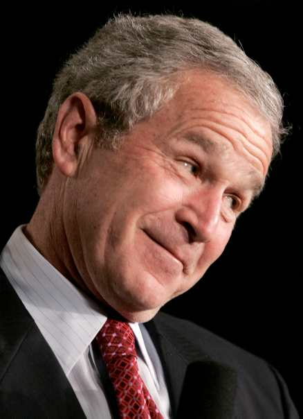 23 Very Funny George Bush Face Pictures And Images That Will Make