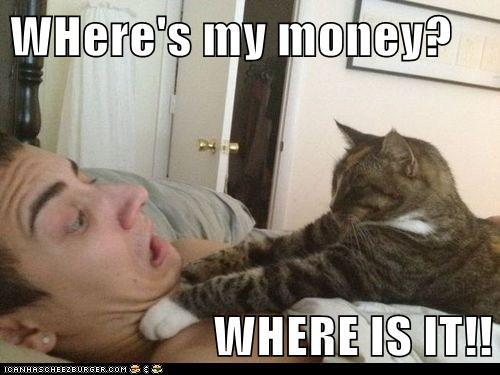 Where's My Money Where Is It Very Funny Money Meme Picture For Facebook