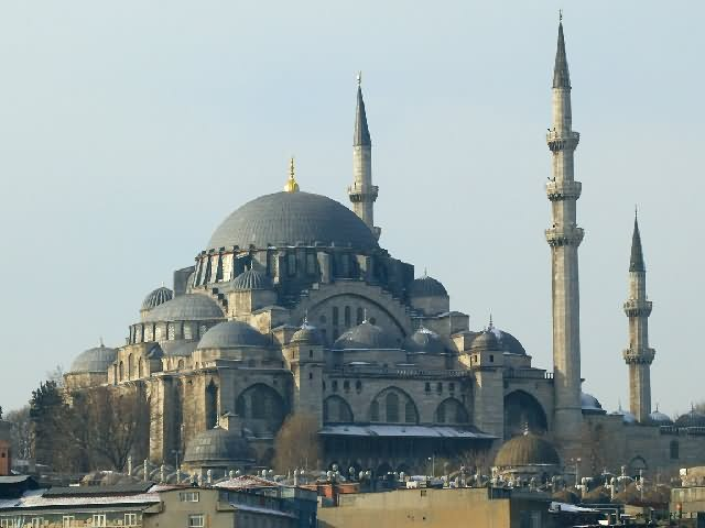 43+ Very Beautiful Pictures And Images Of The Sehzade Mosque In Istanbul
