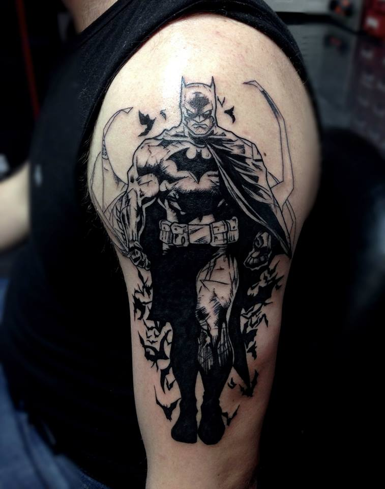 Best 25+ Batman tattoo sleeve ideas on Pinterest