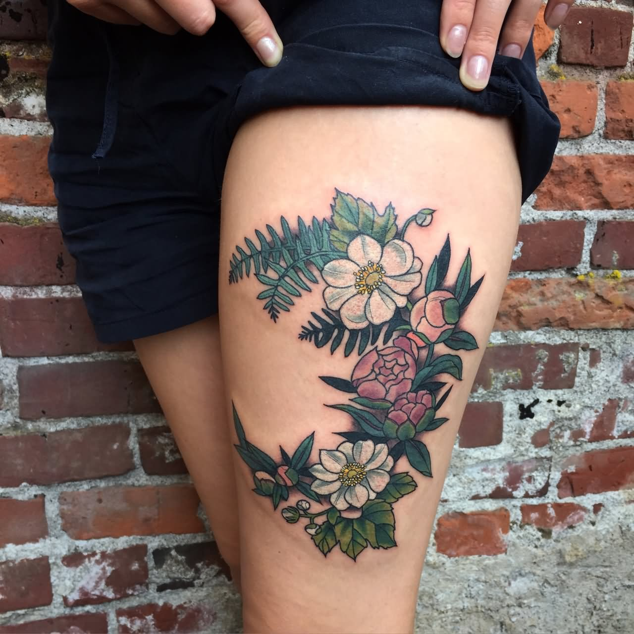 46 Awesome Leg Tattoos