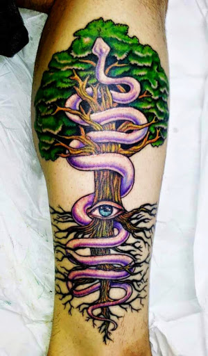 25 tree leg tattoos. Black Bedroom Furniture Sets. Home Design Ideas